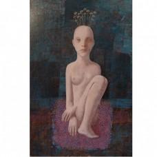 """glezna """"Madonna ar sēnēm"""""""